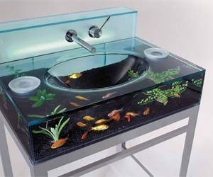 Aquarium Sink | smashthepig.com