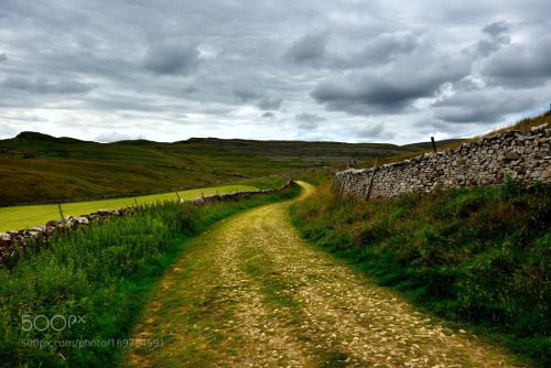 English countryside by TizianoPieroni  sky landscape nature travel natural family love green gb contryside inghilterra campagna Yorkshire a