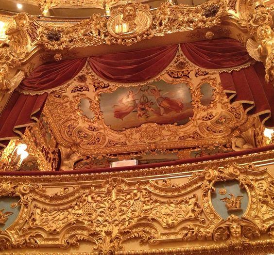 Interior of Teatro La Fenice
