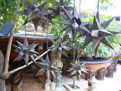 mexican tin star lights....LOVE these, always wanted them at my wedding