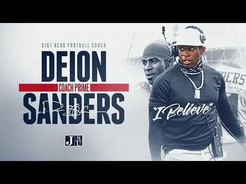 Deion Sanders Dropped One Of The Greatest Promo Video For Jackson State Football Ibelieve Youtube In 2020 Jackson State Jackson State University Football Coach
