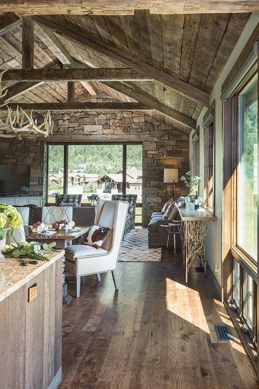 Luxury Cabin Vacation Rental In Teton Village Wy Four Pines 07