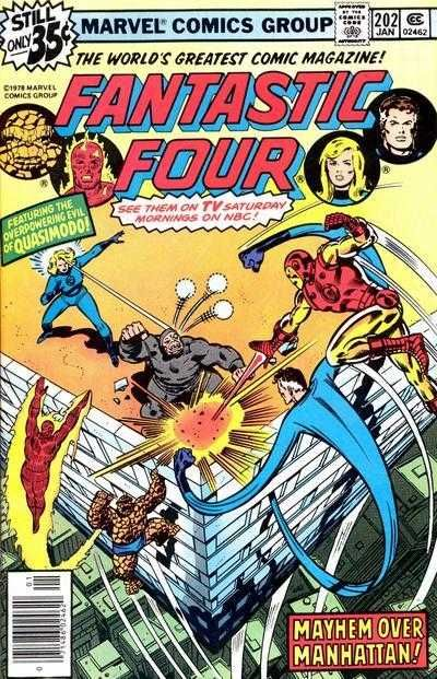 Fantastic Four #202 - There's One Iron Man Too Many!