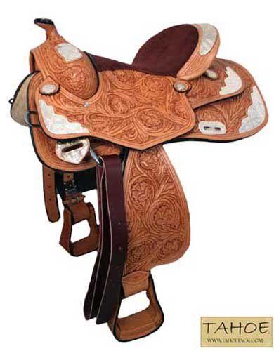 Supreme Floral Western Show Saddle