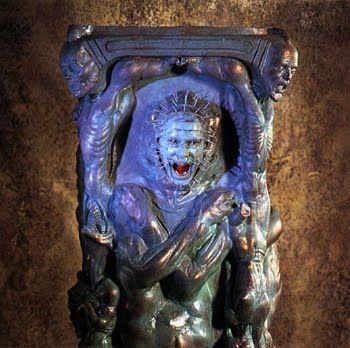 cenobite sculpture from hellraiser 3 hellraiser