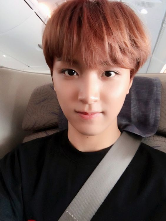 "nctachieve:  ""NCT on a plane!  NCT 127 Update on Vyrl!  """
