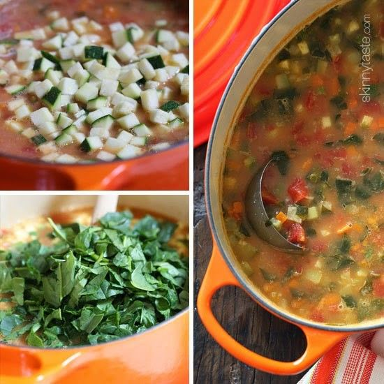 This is by far the best recipe you'll ever try for Minestrone soup – a classic, hearty Italian soup with tomatoes, white beans, vegetables and pasta. You can use Swiss chard or baby kale instead of spinach if you wish and you can omit the pasta if you don't want the carbs – honestly you won't miss it with everything else in this soup.  It's just my preference, but I like to puree the beans in this soup, it thickens it and you don't even know they are in there (great for picky eaters). What…