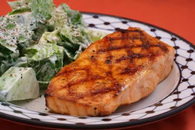 South Beach Diet - Kalyn's Kitchen: Easy South Beach Recipes: Friday Night Salmon Two Ways