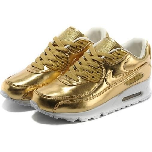 Nike Air Max 90 Premium Metallic Gold