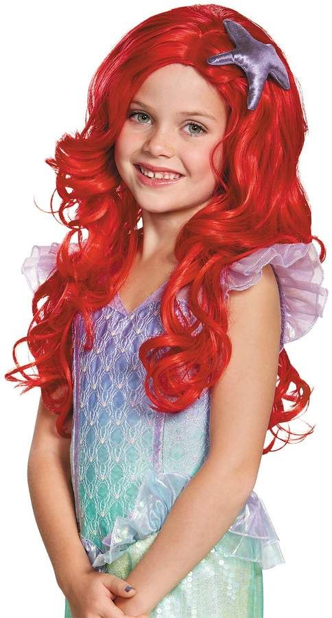 Mermaid Ariel Green Disney Fancy Dress Up Halloween Deluxe Adult Costume w//Wig