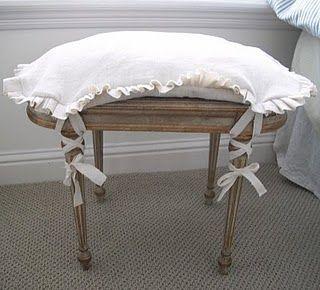 footstool cushion
