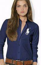 camicia ralph lauren bianco big pony donna in blu maniche lunghe.La signora elegante temperamento colletto della camicia blu scuro, i lavoratori devono, come il contatto:annapolo888@gmail.com whatsapp:008617817444596