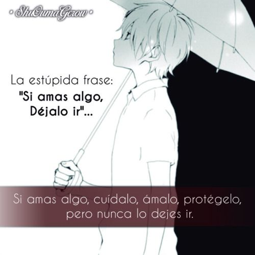 Anime Frases Anime Frases Sentimientos Shuoumagcrow Dolor Amor