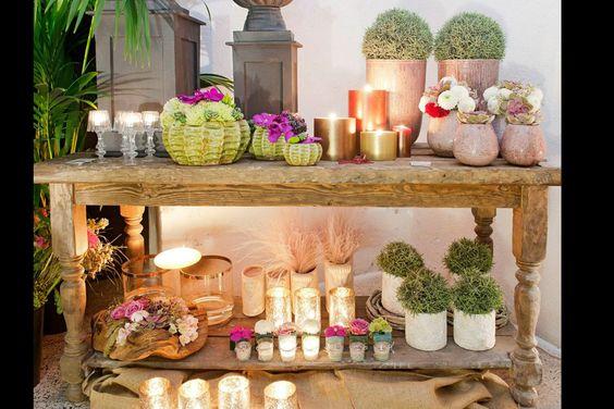 los ramos de novia e ideas de decoración con flores de Mar de flores: bodegón