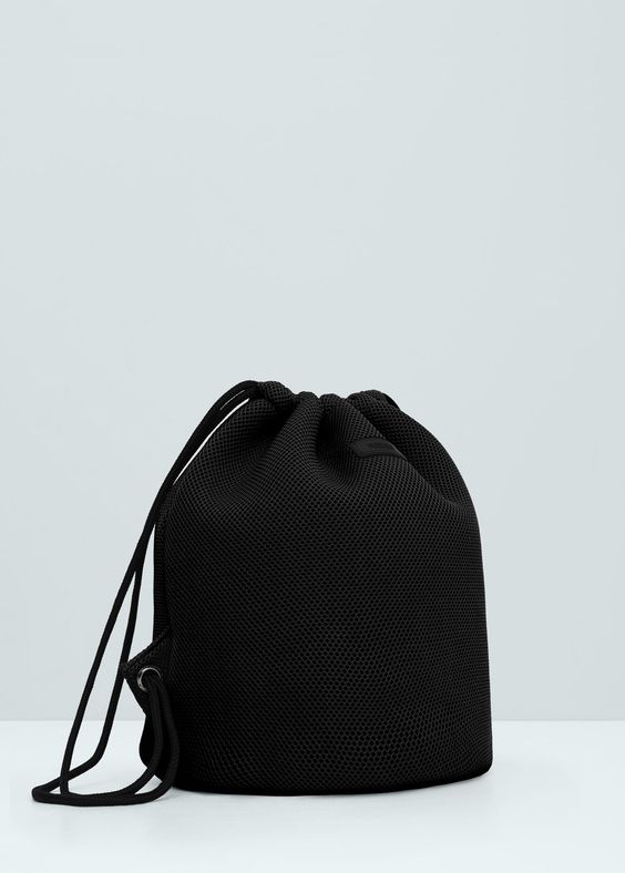 Net backpack - Bags for Women | MANGO USA