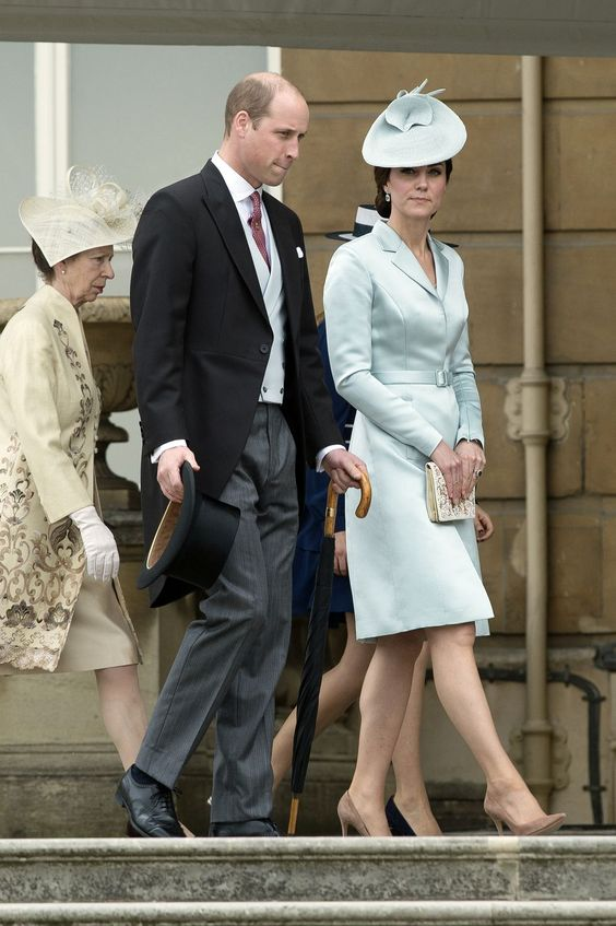 Kate Middleton at the Queen's garden party