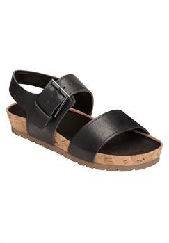 Plus Size Compass Sandal