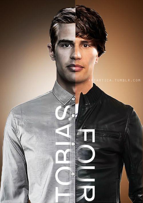 Tobias/Four. aka abnegation/dauntless: I really like this ...