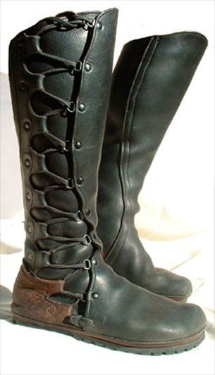 wow boots. Primitive and sophisticated at the same time.