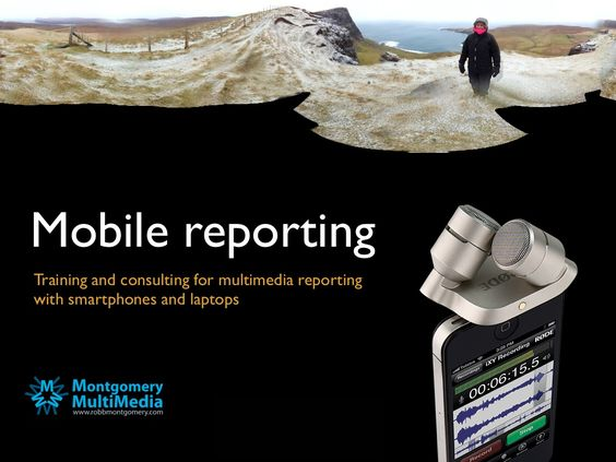mobile-reporting-brochure by Robb Montgomery via Slideshare