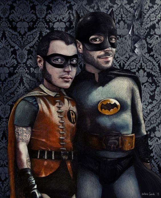 I need a Hero, Batman and Robin | Antonio Lorente: