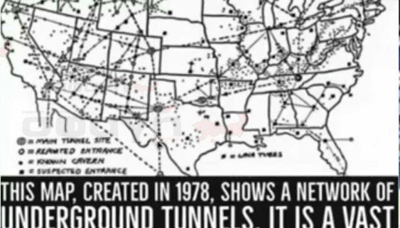 De satanische onderwereld en de geheime bases en tunnels op aarde