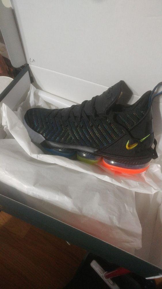 DS NIB Nike Lebron 16 I Promise We Are