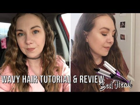 Bed Head A Wave We Go Adjustable Hair Waver Wavy Hair Tutorial Review Yout Wavy Hairstyles Tutorial Hair Tutorial Wavy Hair