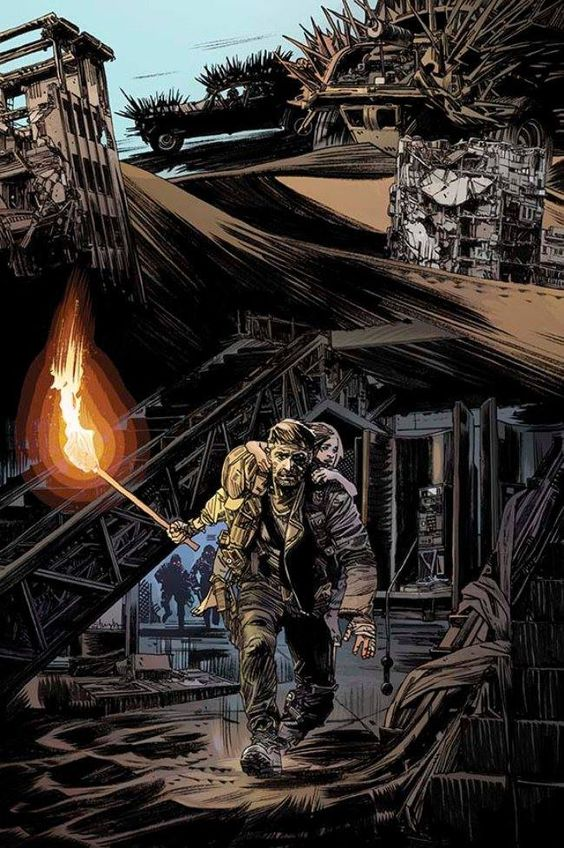Mad Max: Fury Road - Mad Max #2 (Max Rockastansky prequel) by Tommy Lee Edwards *