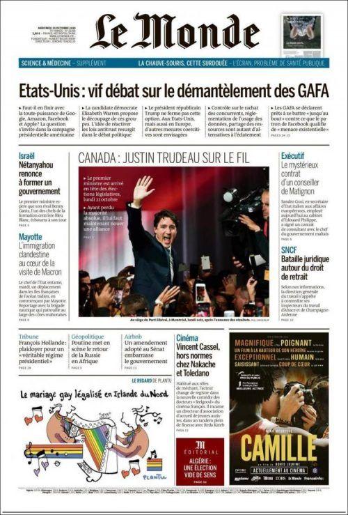 Journal Le Monde Pdf Gratuit : journal, monde, gratuit, Monde, Septembre, 2019), Télécharger, #journaux, #français, Monde,, Téléchargement