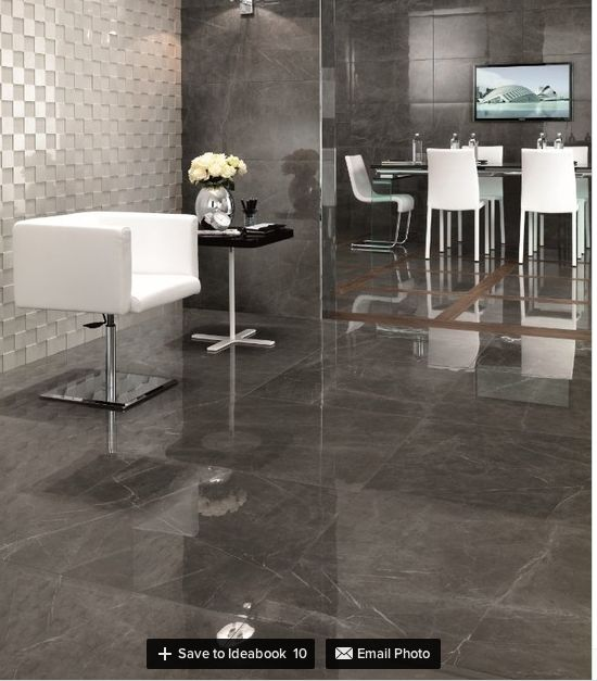 grey marble floor | Dream Home | Pinterest | Marble floor, Marbles and  Drawing rooms