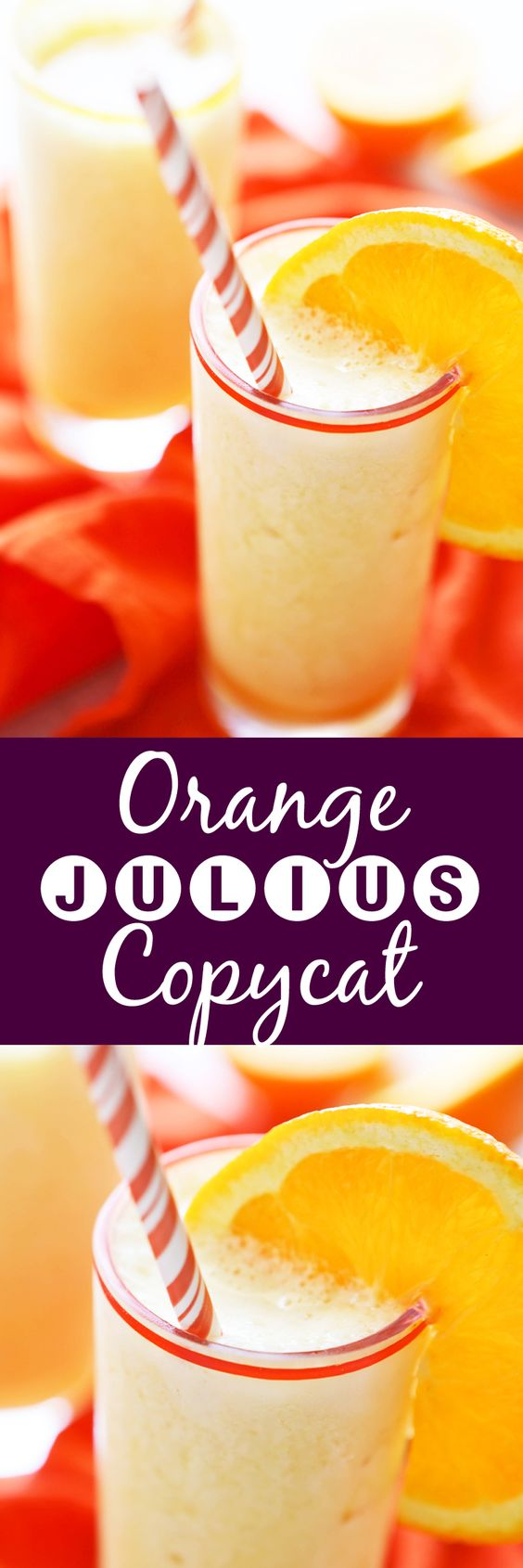 Orange Julius Copycat | This thirst-quenching, delicious summertime drink tastes JUST like the original!