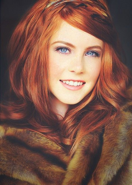 Pretty Girls With Natural Red Hair And Blue Eyes red hair!! I'm so ecst...