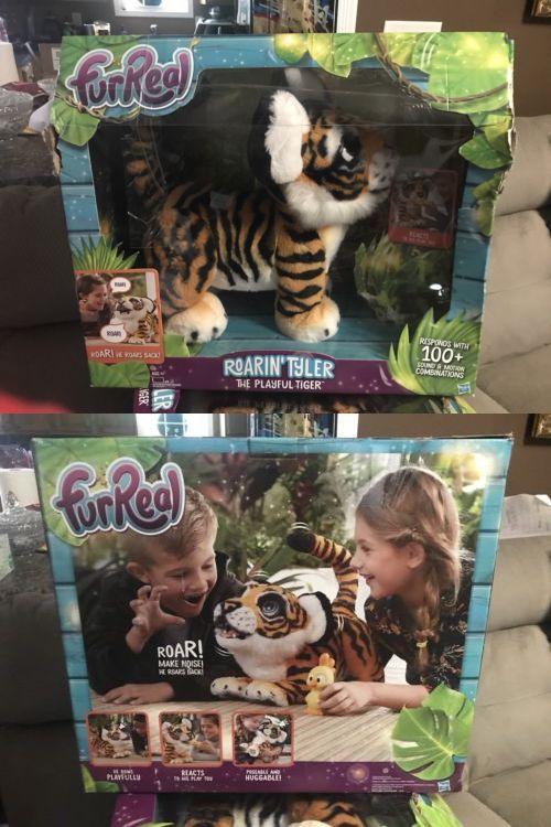 Furreal Roarin Tyler The Playful Tiger Interactive Pet New Damaged Box Fur Real Friends Pet News Pets