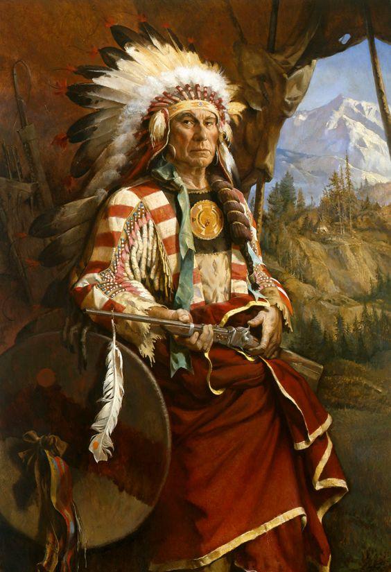 Conquering Bear Chief of the Lakota   Native American ...