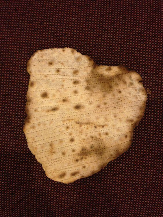 OMG! I was making Matza this afternoon. I rolled it out to be as circle like as possible, when it came out of the oven, it was heart shaped!