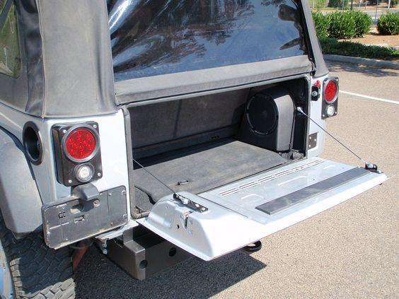 6jktdka Swag Jk Drop Down Tailgate Conversion Kit Jeep Accessories Tailgate Jeep Jk
