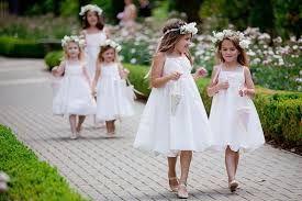 Resultado de imagem para vestido dama de honra infantil