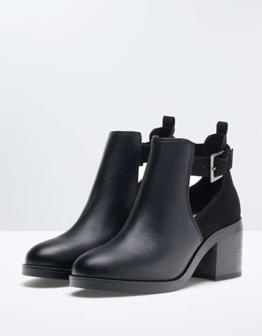 Bershka France -Bottines à talon Bershka ouvertures 45,99 €