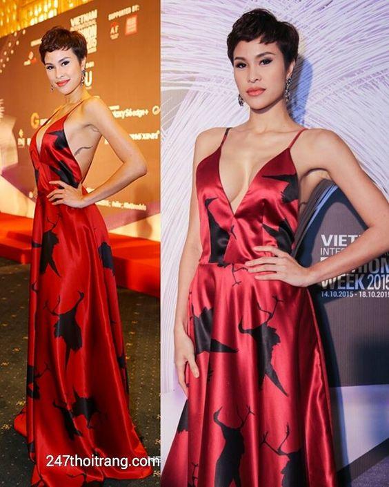 Những bộ váy dự tiệc quyến rũ của Sao Việt trên thảm đỏ 5