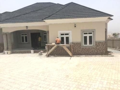 5 Bedroom Bungalow Plans In Nigeria Cost Of Building A 4 Bedroom House In Design Ideas 5 Bedro In 2020 Bungalow House Plans Bungalow House Design Modern Bungalow House