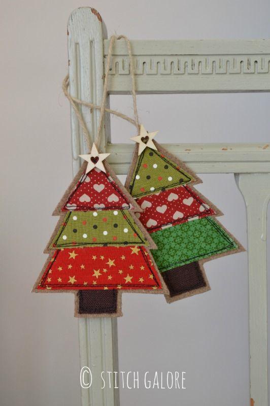 Photo By Tracey Startin Picmonkey Photo Editing Made Of Win Fabric Christmas Trees Fabric Christmas Decorations Handmade Christmas