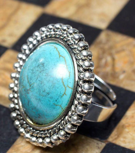 Beautiful #DIY Turquoise Ring