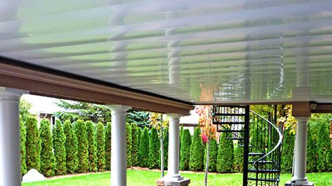 Zip Up Underdeck Image Gallery Backyard Gallery Outdoor Structures