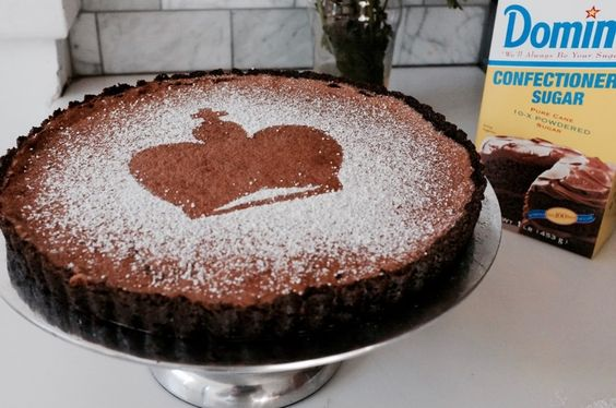 Malted Chocolate Chess Pie - Hill Reeves