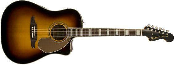 Kingman™ ASCE Dreadnought with Case   California Series   Fender®