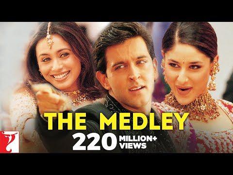 The Medley Full Song Mujhse Dosti Karoge Youtube Songs Hrithik Roshan 90 Songs
