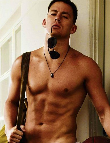 I dont care if he is gay or not hes still #SEXY #Channing #Tatum