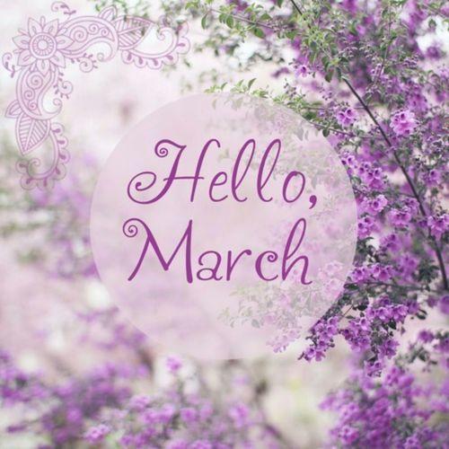 Hello March.: