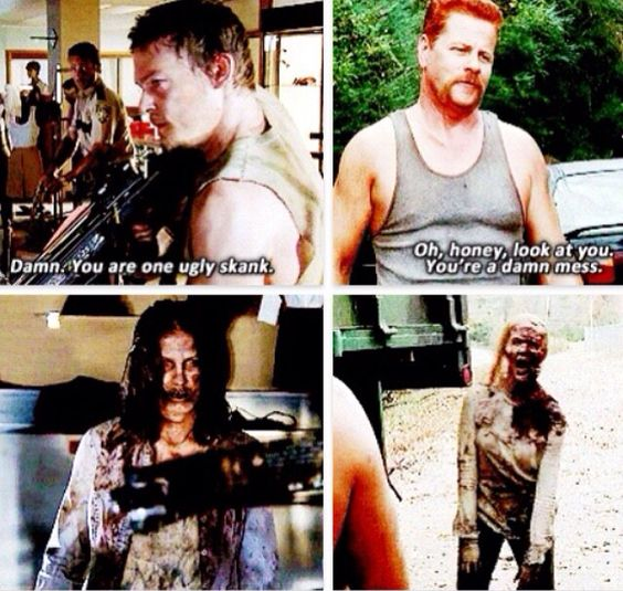 Daryl and Abraham